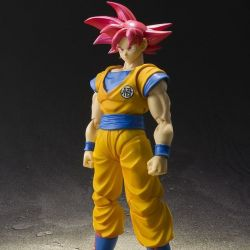 Son Goku Super Super Saiyan God S.H.Figuarts figurine articulée (Dragon Ball Z)
