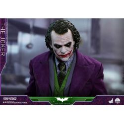The Joker Hot Toys Quarter Scale Series QS010 figurine 1/4 47 cm (Batman : The Dark Knight)