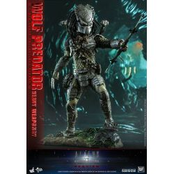 Wolf Predator (Heavy Weaponry) Hot Toys MMS443 1/6 figure (Aliens vs. Predator : Requiem)