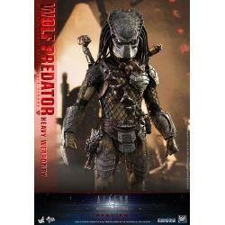 Wolf Predator (Heavy Weaponry) Hot Toys MMS443 figurine 1/6 (Aliens vs. Predator : Requiem)