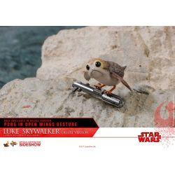 Luke Skywalker Deluxe Hot Toys MMS458 figurine 1/6 (Star Wars VIII : Les Derniers Jedi)