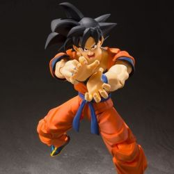 Son Goku A Saiyan Raised On Earth S.H.Figuarts figurine articulée (Dragon Ball Z)