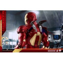 Iron Man Mark III Hot Toys QS011 figurine 1/4 (Iron Man)