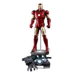 Iron Man Mark III Deluxe Hot Toys QS012 1/4 action figure (Iron Man)