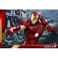 Iron Man Mark III Deluxe Hot Toys QS012 1/4 action figure (Iron Man)