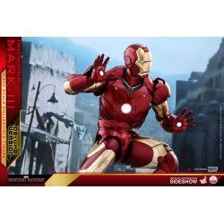 Iron Man Mark III Deluxe Hot Toys QS012 figurine 1/4 (Iron Man)