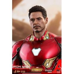 Iron Man Diecast Hot Toys MMS473D23 figurine 1/6 (Avengers Infinity War - Part 1)