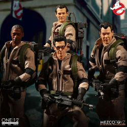 SOS Fantômes Deluxe Box Set Mezco One:12 1/12 figurines (Ghostbusters)