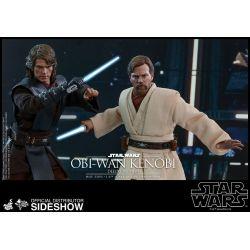 Obi-Wan Kenobi Deluxe Hot Toys MMS478 figurine 1/6 (Star Wars III : La Revanche des Sith)