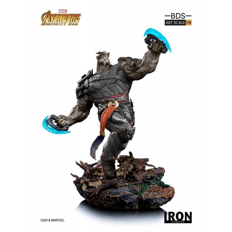 Cull Obsidian BDS Art Scale Iron Studios Statue 1/10 (Avengers : Infinity War - Part 1)