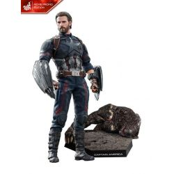 Captain America Version Movie Promo Hot Toys MMS481 figurine 1/6 (Avengers Infinity War - Part 1)