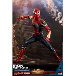 Iron Spider Hot Toys MMS482 figurine 1/6 (Avengers Infinity War - Part 1)