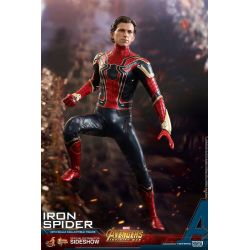Iron Spider Hot Toys MMS482 1/6 action figure (Avengers Infinity War - Part 1)