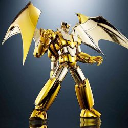 Shin Mazinger Z Gold Version Super Robot Chogokin Tamashii Nations World Tour figurine 15 cm (Mazinger Z)
