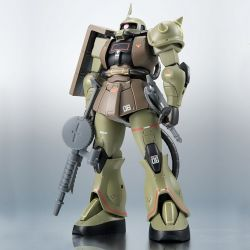 MS-06 Zaku II Mass Production Model Version Real Type Color Tamashii Nations 15 cm action figure (Mobile Suit Gundam)