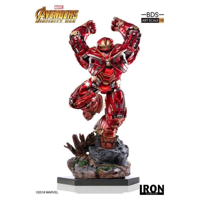 Hulkbuster BDS Art Scale Iron Studios 1/10 Statue (Avengers : Infinity War - Part 1)