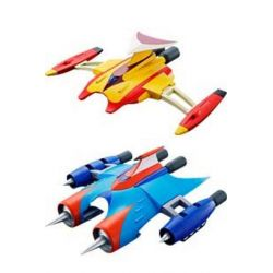 Marine Spazer and Drill Spazer Set GX-76X2 Soul of Chogokin (Grendizer)