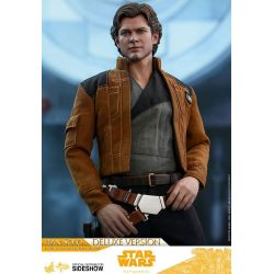 Han Solo Deluxe Hot Toys MMS492 figurine 1/6 (Solo : A Star Wars Story)