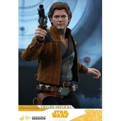 Han Solo Deluxe Hot Toys MMS492 1/6 action figure (Solo : A Star Wars Story)