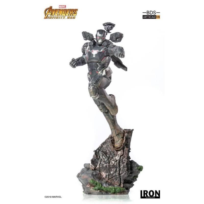 War Machine BDS Art Scale Iron Studios Statue 1/10 (Avengers : Infinity War - Part 1)