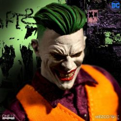 The Joker Clown Prince of Crime Mezco One:12 1/12 action figure (DC Comics)