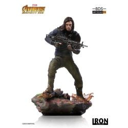 Winter Soldier BDS Art Scale Iron Studios Statue 1/10 (Avengers : Infinity War - Part 1)