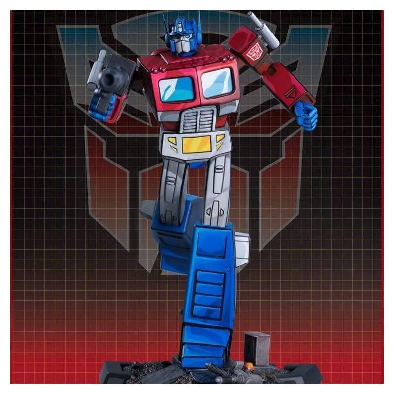 Optimus Prime Classic Series Pop Culture Shock statue 27 cm (Transformers)