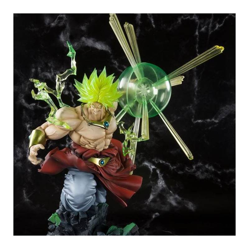 Broly Super Saiyan Burning Battle Figuarts Zero (Dragon Ball Z)