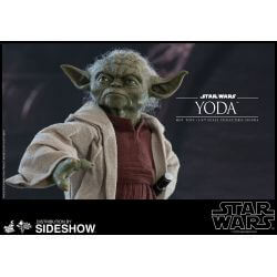 Yoda Hot Toys MMS495 figurine 1/6 (Star Wars II : L'attaque des clones)