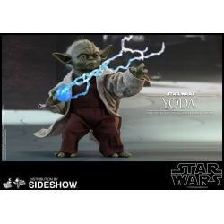Yoda Hot Toys MMS495 1/6 action figure (Star Wars II : Attack of the Clones)