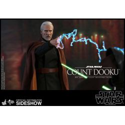 Count Dooku Hot Toys MMS496 1/6 action figure (Star Wars II : Attack of the Clones)
