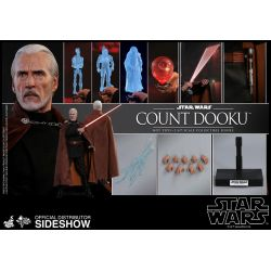 Count Dooku Hot Toys MMS496 (Star Wars II Attack of the Clones)