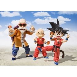 Kid Krillin Early Years S.H.Figuarts figurine articulée Bandai 11 cm (Dragon Ball)