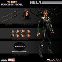Hela Mezco One:12 figurine 1/12 (Thor Ragnarok)