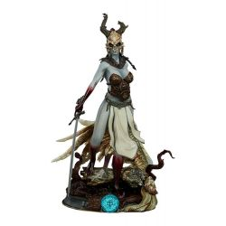 Kier (Valkyrie's Revenge) Sideshow Collectibles 27 cm statue (Court of the Dead)