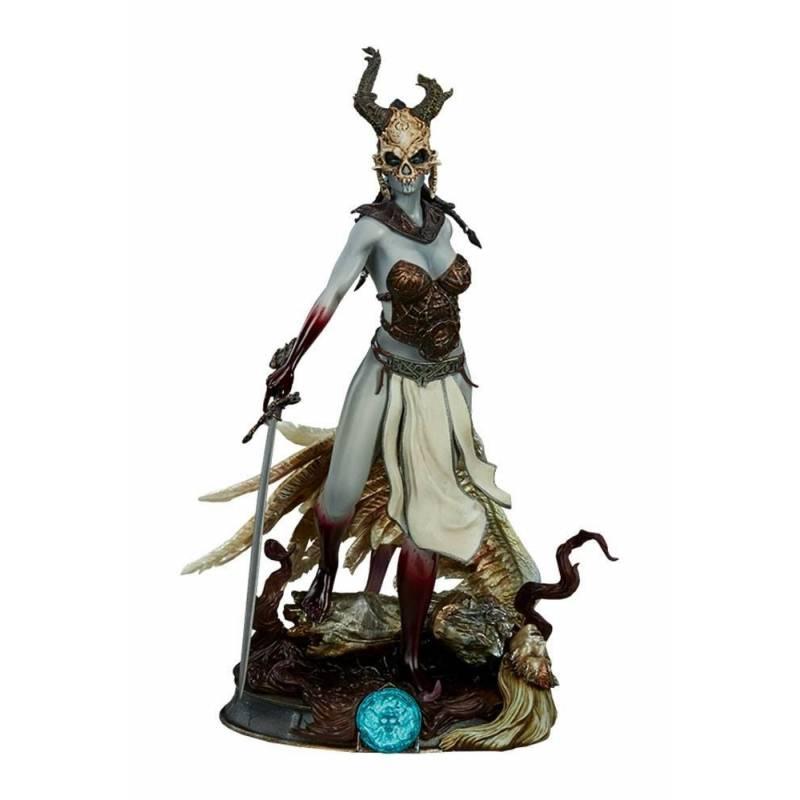 Kier (Valkyrie's Revenge) Sideshow Collectibles 27 cm statue (Court of the Dead)