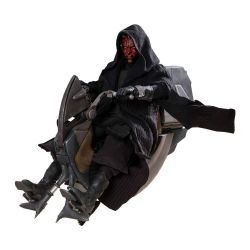 Darth Maul Sith Speeder Hot Toys DX17 figurine 1/6 (Star Wars I : La Menace fantôme)