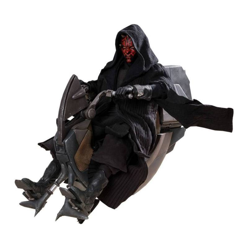 Darth Maul Sith Speeder Hot Toys DX17 1/6 action figure (Star Wars I : The Phantom Menace)