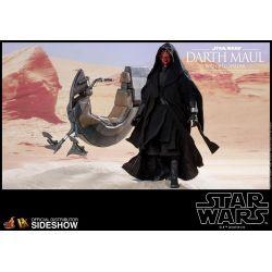 Darth Maul Sith Speeder Hot Toys DX17 figurine 1/6 (Star Wars I : La Menace fantôme)