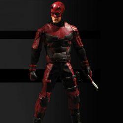 Daredevil Mezco One:12 1/12 17 cm action figure (Marvel Comics)