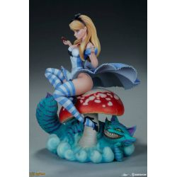 Alice in Wonderland Fairytale Fantasies Collection Sideshow Collectibles 34 cm statue