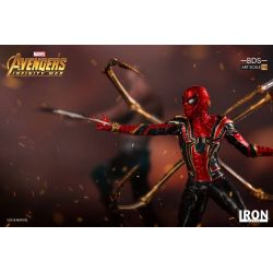 Iron Spider-Man BDS Art Scale Iron Studios 1/10 figure (Avengers : Infinity War - Part 1)