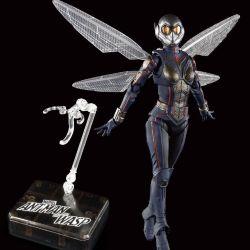 La Guêpe (The Wasp) et Tamashii Stage S.H.Figuarts figurine articulée (Ant-Man et la Guêpe)