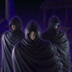 Myth Cloth Surplis Mystérieux set de 3 capes (Saint Seiya)