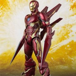 Iron Man MK50 Nano Weapons Tamashii Web Exclusive S.H.Figuarts figurine articulée (Avengers : Infinity War - Part 1)