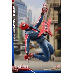 Spider-Man Spider-Punk Suit Hot Toys VGM32 1/6 action figure (Marvel's Spider-Man)