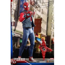 Spider-Man Spider-Punk Suit Hot Toys VGM32 figurine 1/6 (Marvel's Spider-Man)