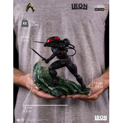 Black Manta BDS Art Scale Iron Studios Statuette 1/10 (Aquaman)