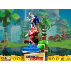 Sonic vs Chopper First 4 Figures F4F diorama (Sonic Generations)