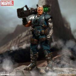 Cable Mezco One:12 1/12 action figure (Marvel Comics)